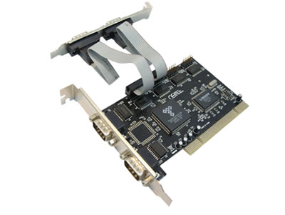 PCI to 4-Port Serial Card