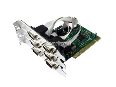 PCI to 6-Port Serial Card
