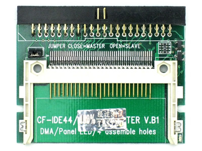 Pin-cover Laptop 44-Pin Male IDE To CF Card Adapter