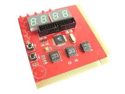 4-Digit PCI / ISA Motherboard Diagnostic Debug Card
