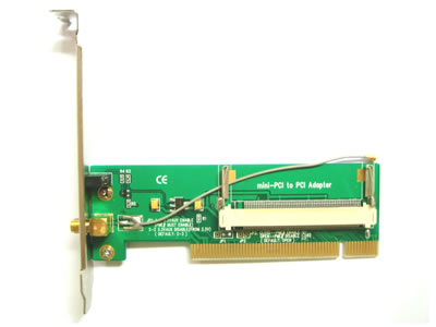 Bracket Mini-PCI To PCI Wireless Adapter