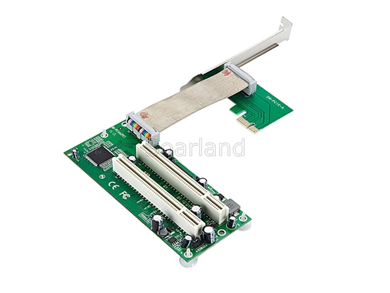 PCIe to dual PCI Riser Adapter