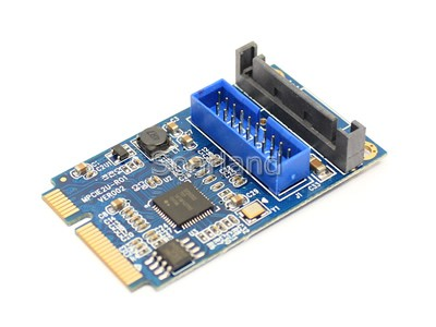 19 Pin USB 3.0 to mini PCIe Adapter