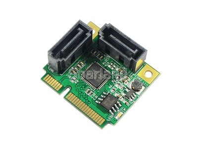 Dual SATA 3 to mini PCIe Adapter