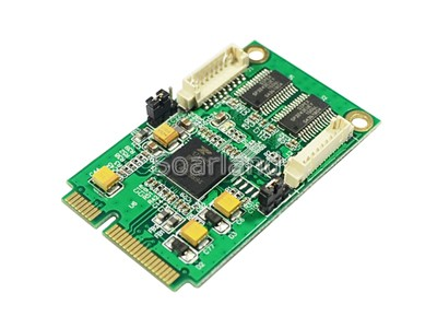 2-Port Serial RS232 mini PCIe Card
