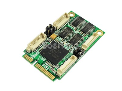4-Port Serial RS232 mini PCIe Card