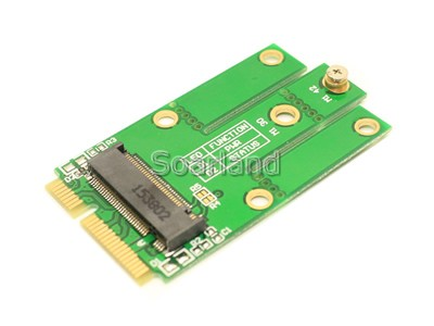 Key A M.2 to mini PCIe Adapter