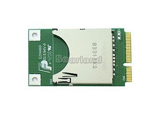 SD Card to MiniPCI-E Laptop Adapter