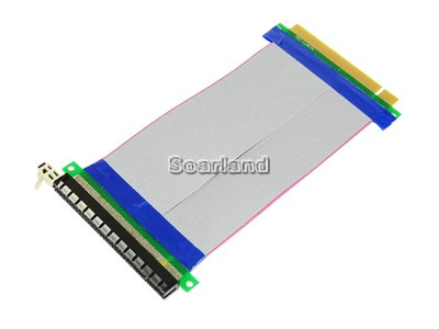 Flexible PCI-E 16x Riser Cable