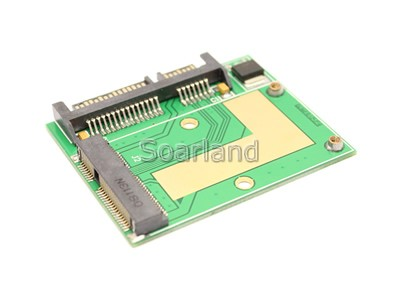 mSATA SSD to Half-slim SATA Adapter