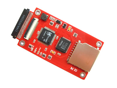 SD Card to ZIF/Toshiba 1.8 Adapter